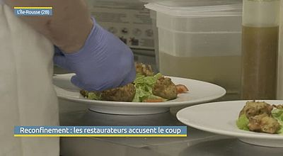 Reconfinement : Les restaurateurs accusent le coup